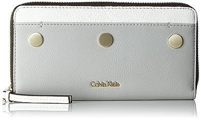Calvin Klein - Le4 Large Ziparound Cb, Carteras Mujer, Beige ...