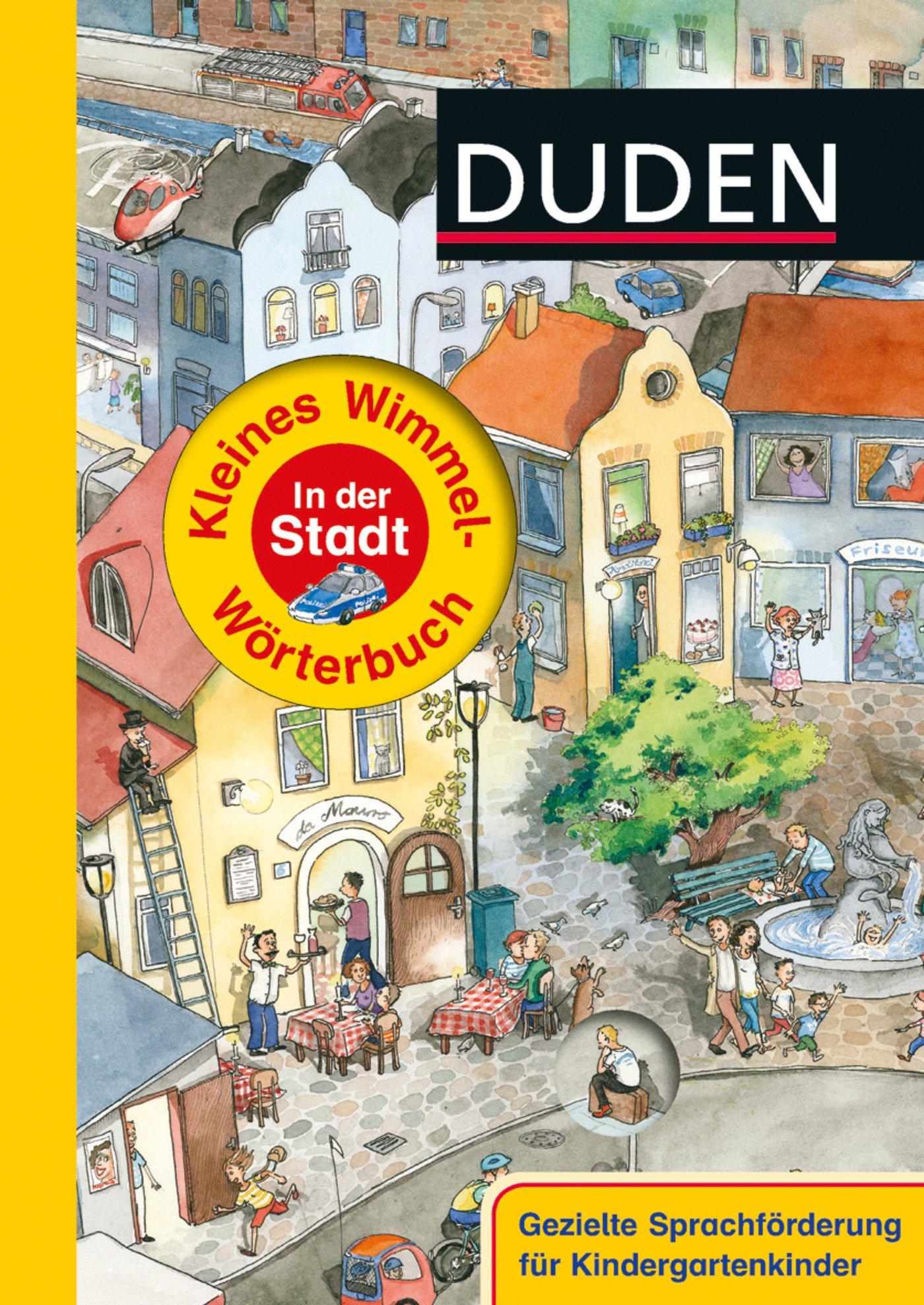Duden - Kleines Wimmel-Wörterbuch - In der Stadt
