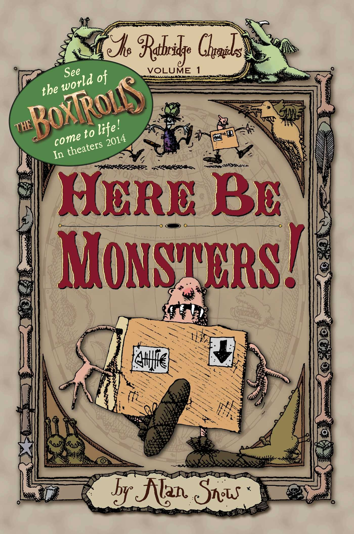 Download Here Be Monsters! (The Ratbridge Chronicles) pdf epub