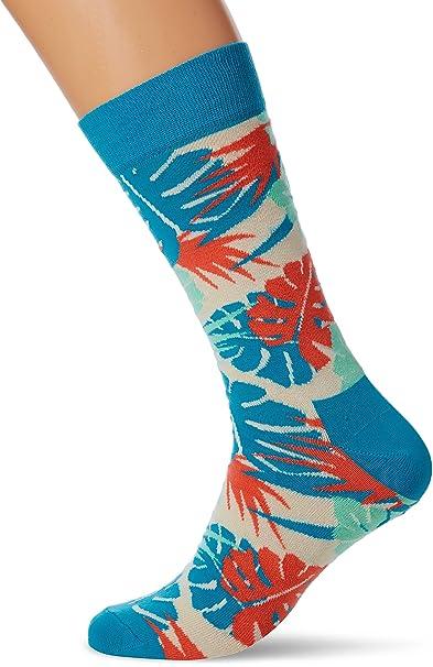 Happy Socks Faded Diamond Sock, Calcetines para Hombre, 100 DEN: Amazon.es: Ropa y accesorios