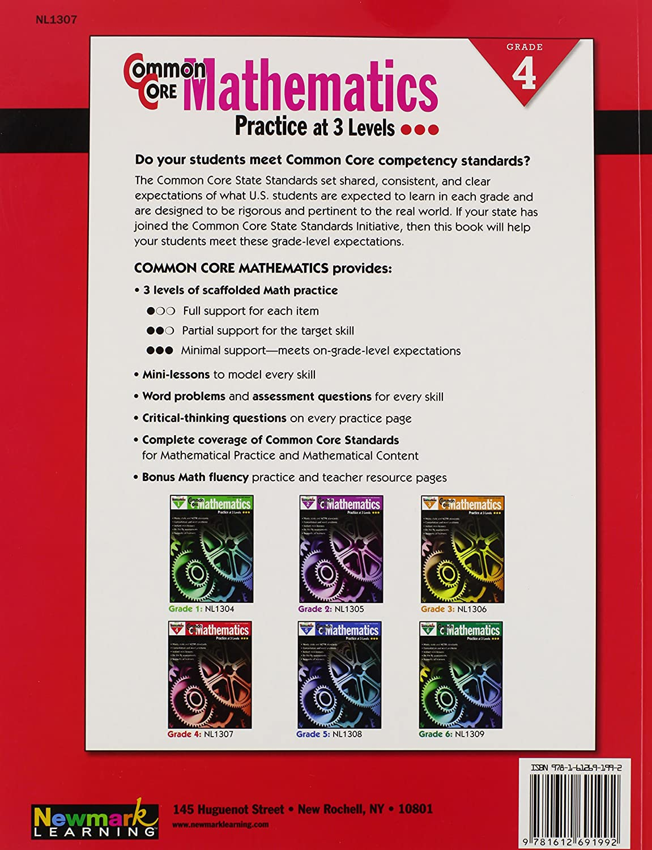 Amazon.com: NL-1304 - COMMON CORE MATHEMATICS GR 1: Multiple Authors: Toys  & Games