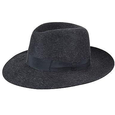 Barbisio Super Fur Felt Fedora at Amazon Men s Clothing store  e0802e836f5