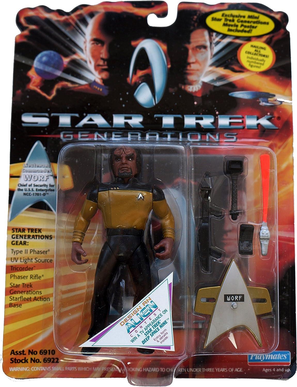 Star Trek Generations Lieutenant Commander Worf