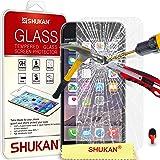 """Apple iPhone 6 (4,7 """"pouces) écran en verre trempé Crystal Clear LCD Protecteur & Chiffon SVL0 PAR SHUKAN®, (VERRE TREMPÉ)"""