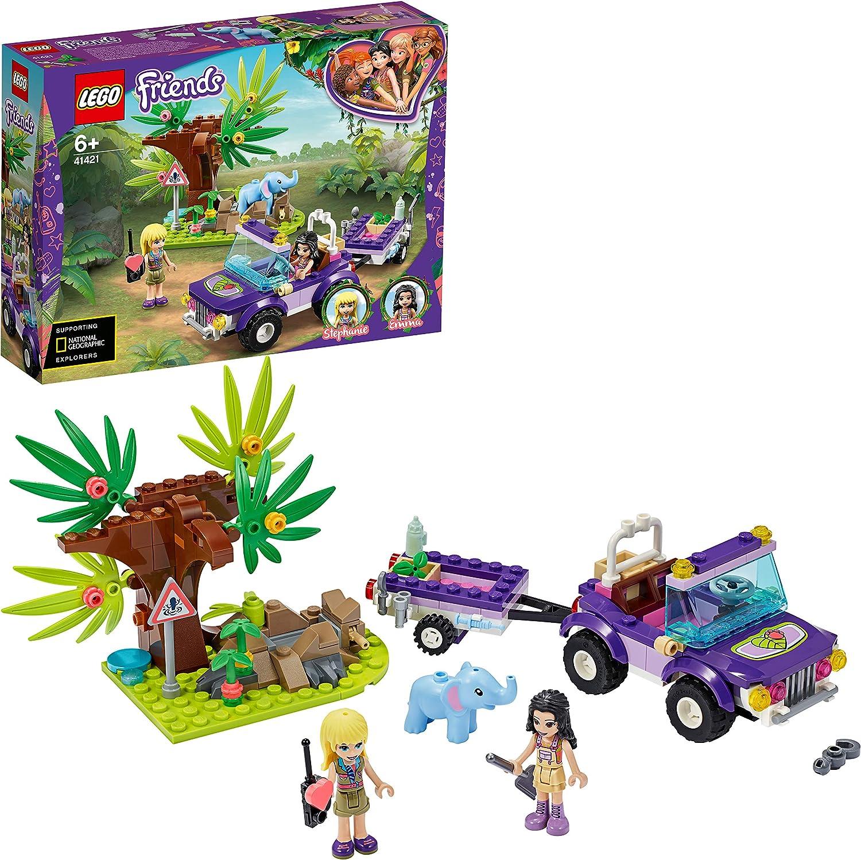 レゴ(LEGO) フレンズ 赤ちゃんゾウのジャングルレスキュー 41421