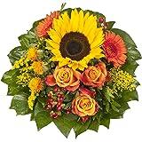"""Dominik Blumen und Pflanzen, Blumenstrauß""""Sonnenlicht"""" mit einer Sonnenblume"""