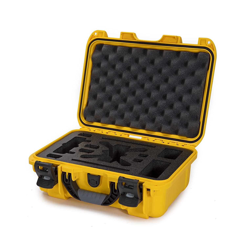 Made in Canada Nanuk 915 Waterproof Hard Drone Case with Custom Foam Insert for DJI Spark Flymore Black