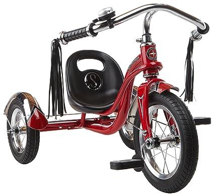 """527c0b632ea Schwinn Roadster Tricycle, 12"""" Wheel Size, Trike Kids Bike Red"""