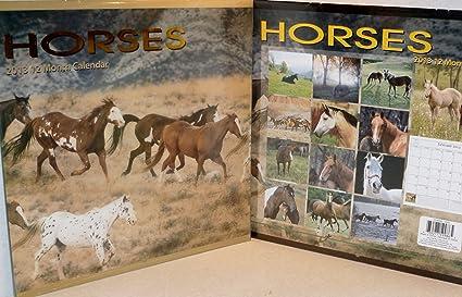2013 caballos calendario: Amazon.es: Oficina y papelería