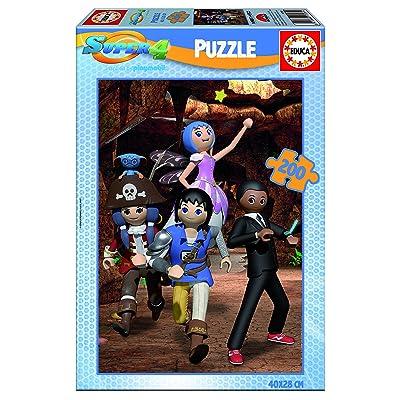 Super 4 Puzzle De 200pièces (Educa Borrás 17281)