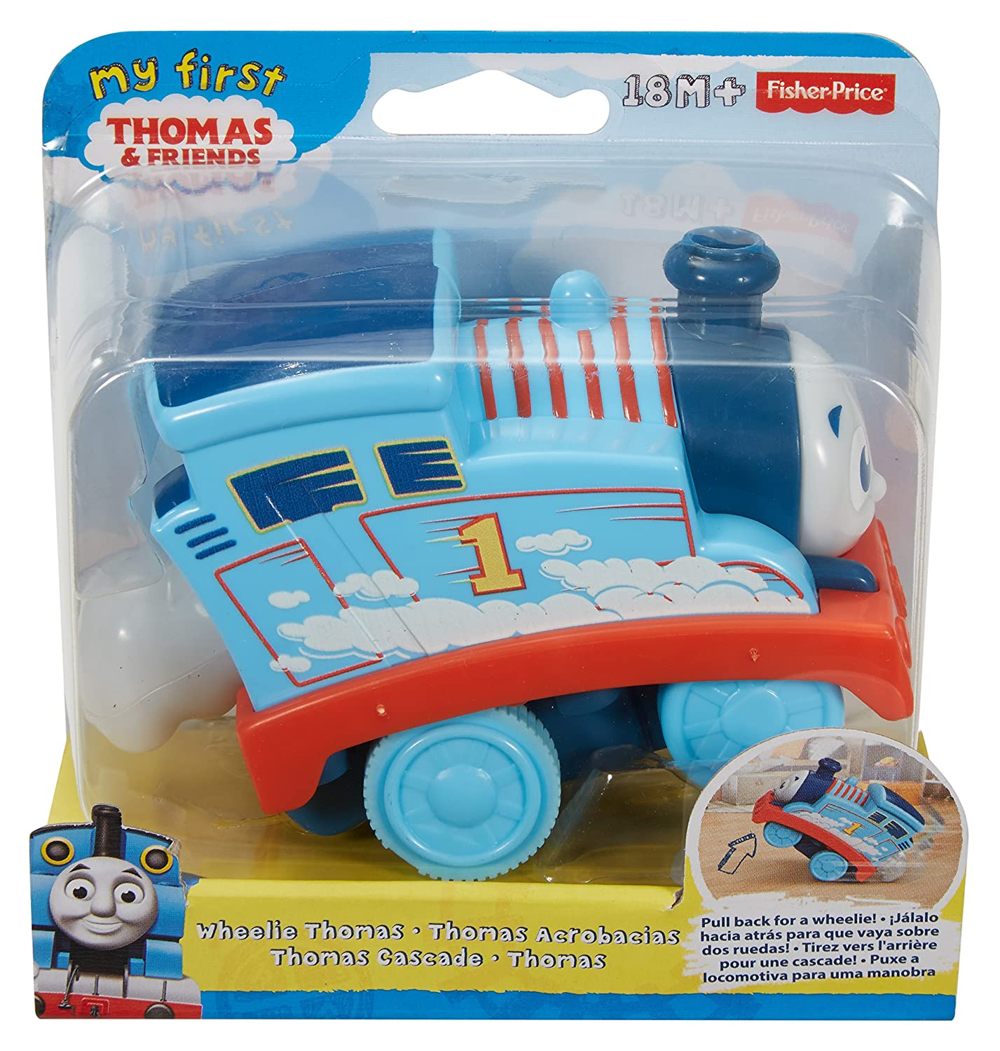 Amazon.com: Thomas & Friends Fisher-Price My First, Wheelie Thomas: Toys & Games