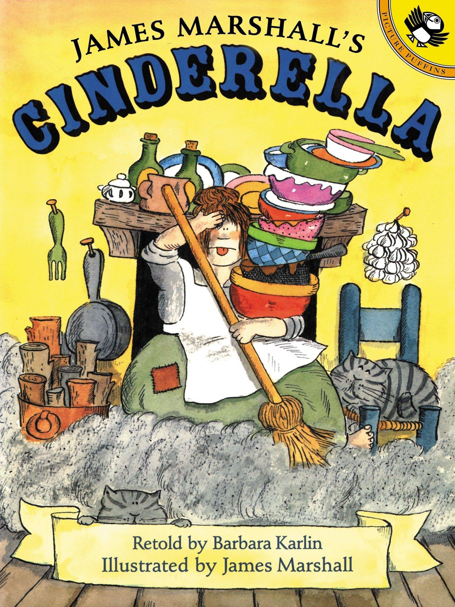 Read Online James Marshall's Cinderella pdf