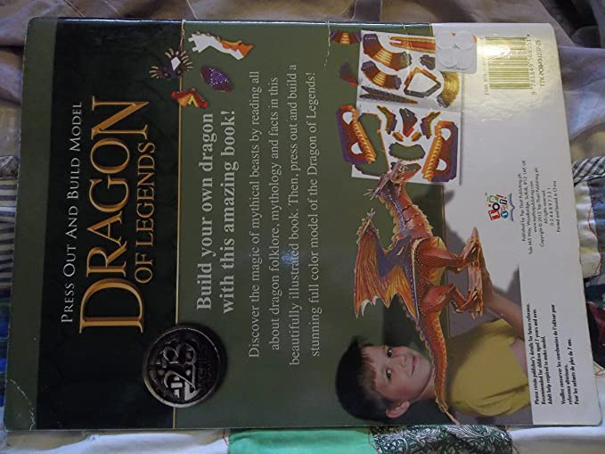 Amazon com: Dragon of Legends Press Out and Build Model: Toys & Games