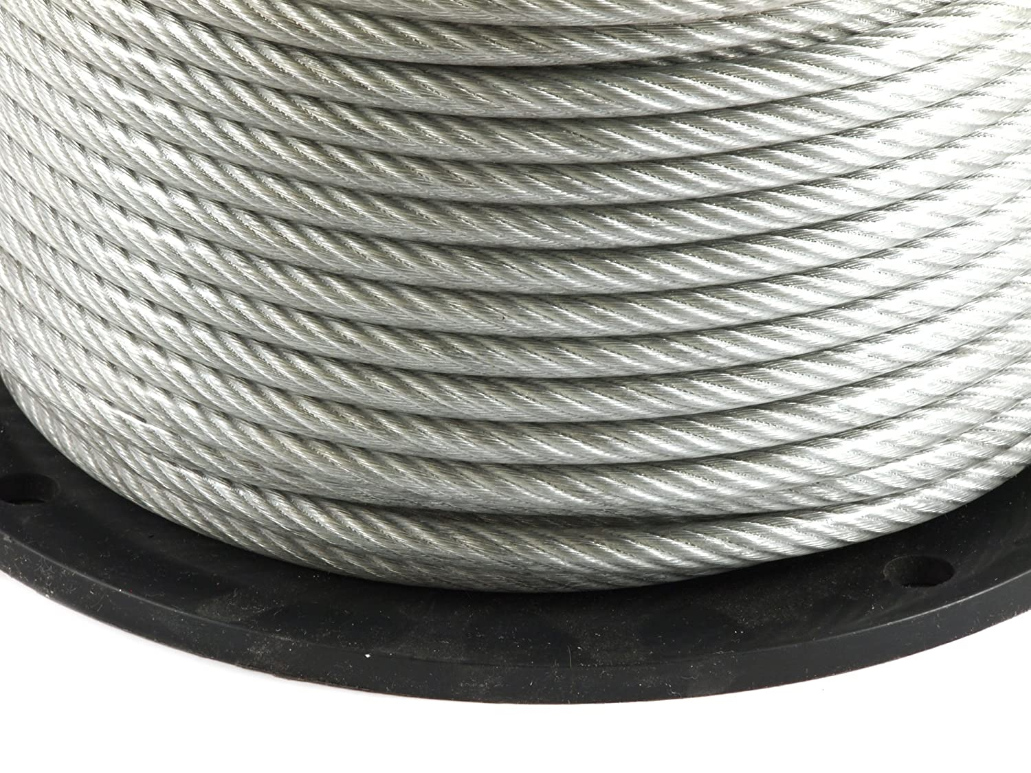 Amazon.com: Forney 70452 Wire Rope, Vinyl Coated Aircraft Cable, 250 ...