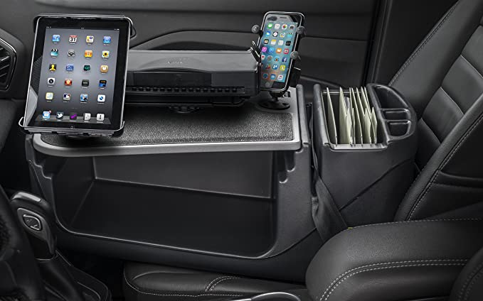 AutoExec AEGrip-02-09 Efficiency GripMaster with X-Grip Phone Mount Tablet Mount and Printer Stand