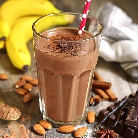 nu3 Vegan Protein 4K Shake Choco Macchiato - 400 g Batido de Proteínas Orgánico en Polvo Prémium a Partir de 4 Componentes Vegetales - 48% de Proteína ...