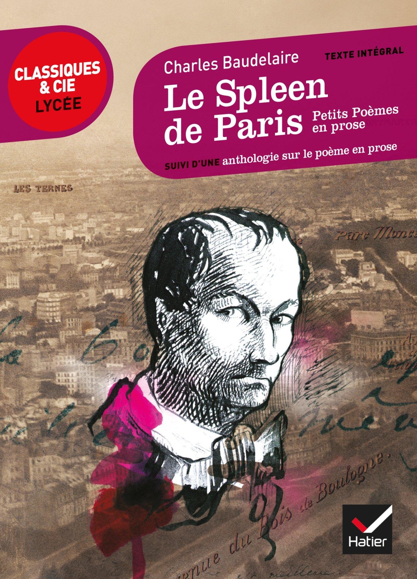 Le Spleen De Paris Petits Poèmes En Prose Suivi Dun