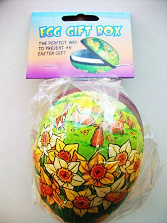 Easter egg cardboard gift box 15cm approx amazon toys easter egg cardboard gift box 15cm approx negle
