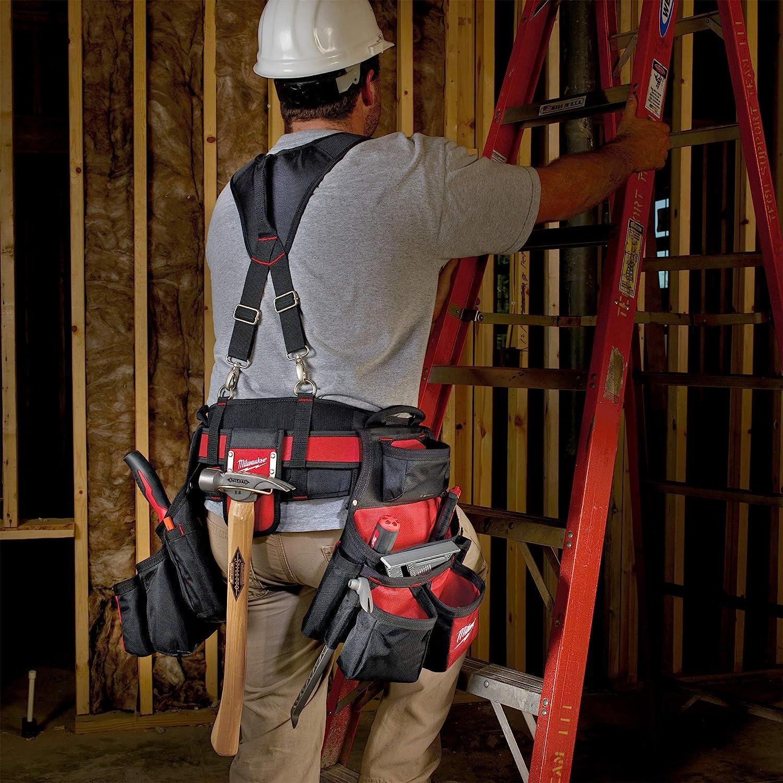 Milwaukee 48-22-8120 30-53-Inch 24-Pocket Suspension Rig Contractor Work Belt