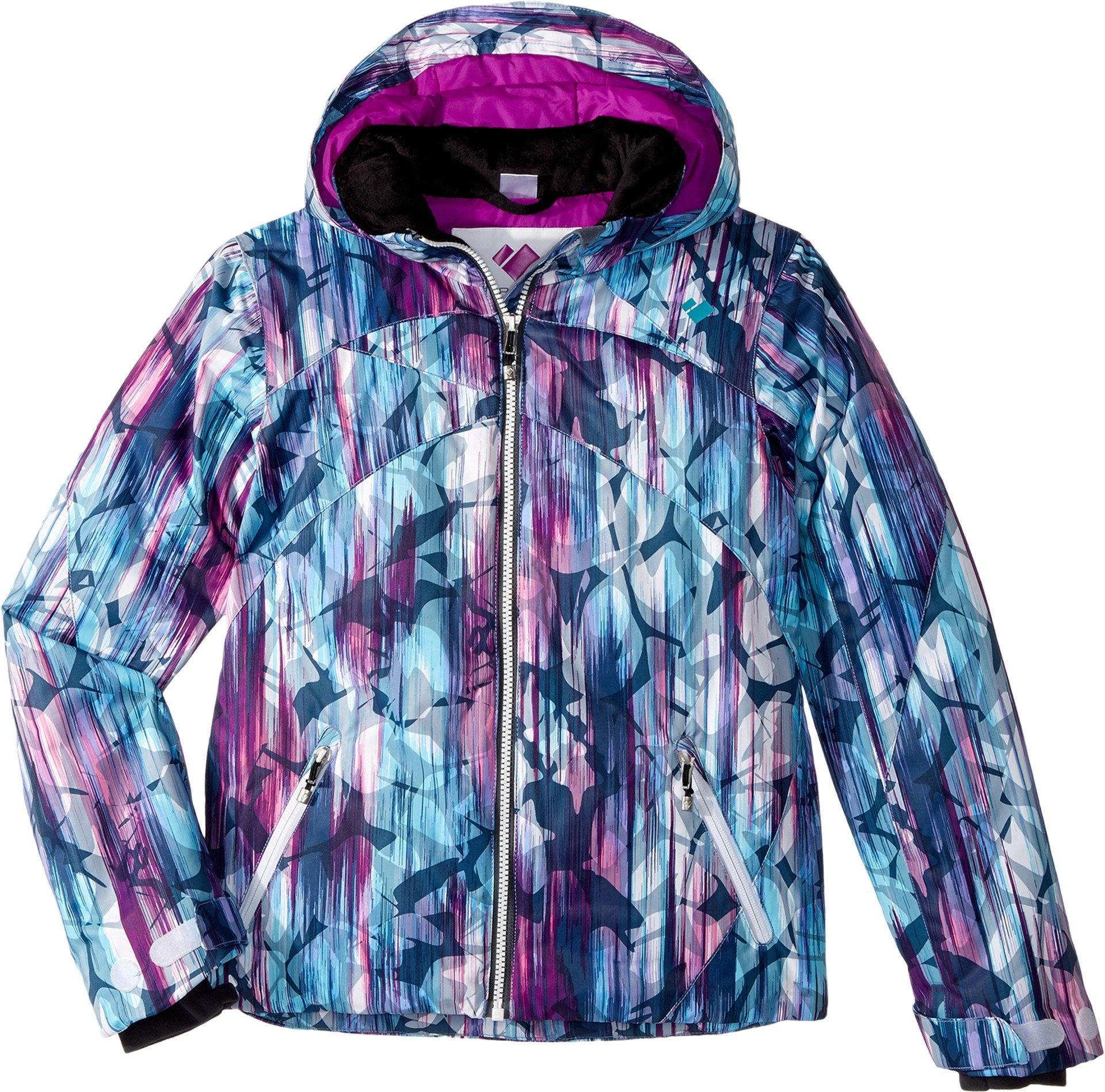 Obermeyer Kids Girl's Tabor Print Jacket (Little Kids/Big Kids) Escape Print X-Large