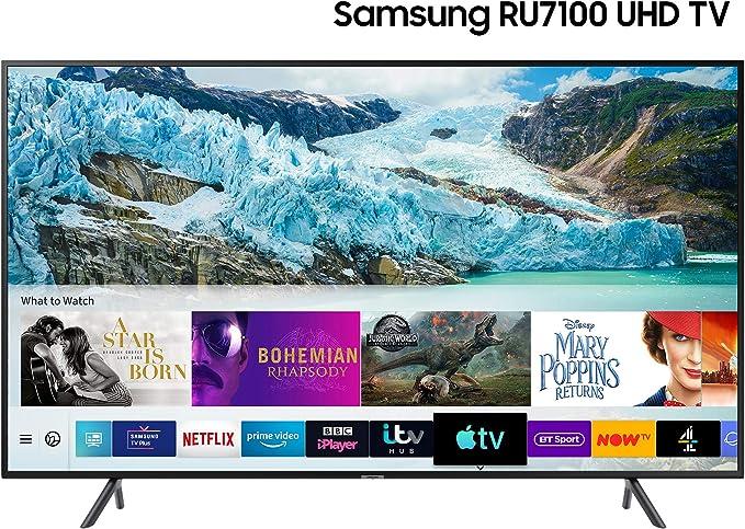 SAMSUNG 55 Pulgadas TV ru7100 HDR Inteligente 4k: Amazon.es: Electrónica