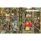 Schmidt Colin Thompson Fantastic Cityscape Premium Quality Jigsaw Puzzle (1000-Piece)