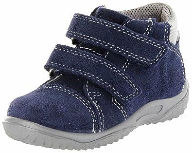 6848872cda9537 Richter Kinder Lauflerner blau Velourleder Sympatex Jungen-Schuhe  0438-342-7201 Atlantic Mogli