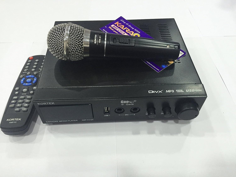 Karaoke Multi Format Media Player Kmp F212a Amazon In Electronics