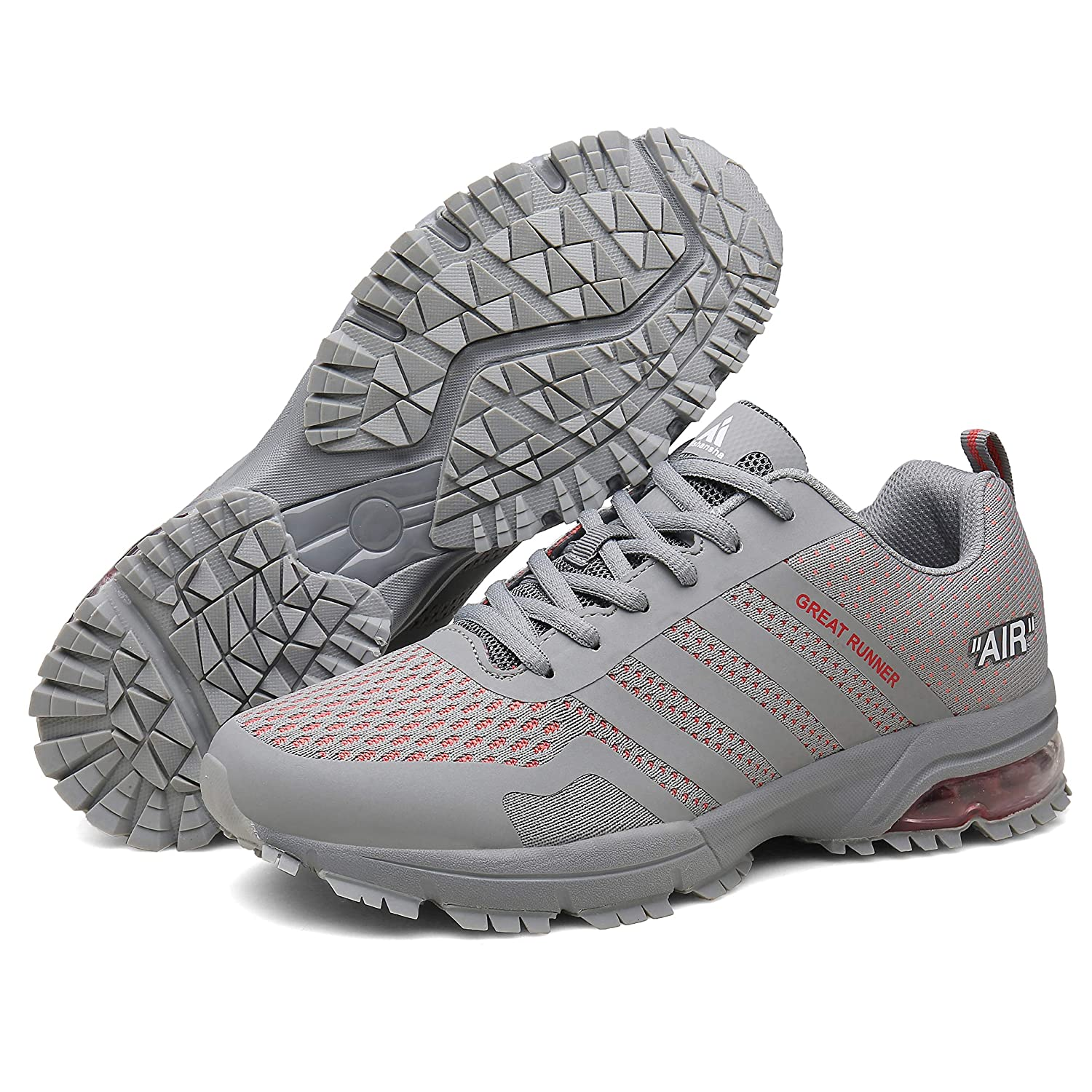 Homme Chaussures de Course Basket Running Sport Trail Outdoor Fitness Shoes Femme