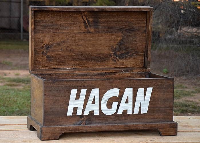 Amazoncom Personalized Toy Box Toy Storage Box Wooden Toy Box