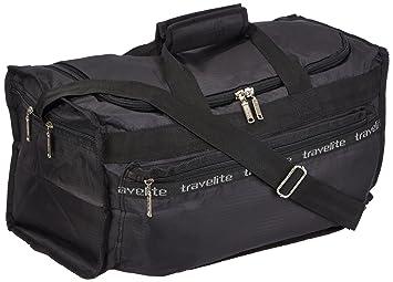 Travelite MiniMax S Sac de voyage compressible Noir 46 x 25 x 23 cm 24 l sxeJQbUC