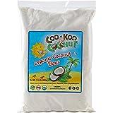 Organic Coconut Flour 1.16 lb, w/ Gluten Free Recipe E- Book, Best Low Carb Flour, Fine, Raw, Premium Grade, Paleo Friendly Non-GMO Certified