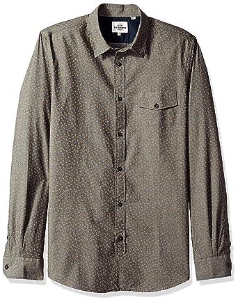 371b6aa22 Ben Sherman Men s Chambray Tulip Shirt Button  Amazon.co.uk  Clothing