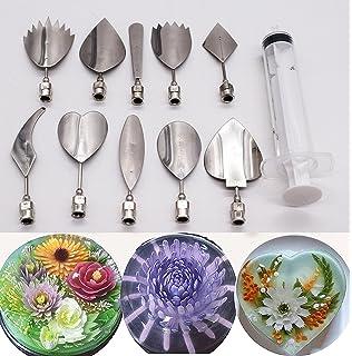 Jelly Art Tools 10 Pcs/set, KOOTIPS Gelatin Art Tools Set -3D Jelly