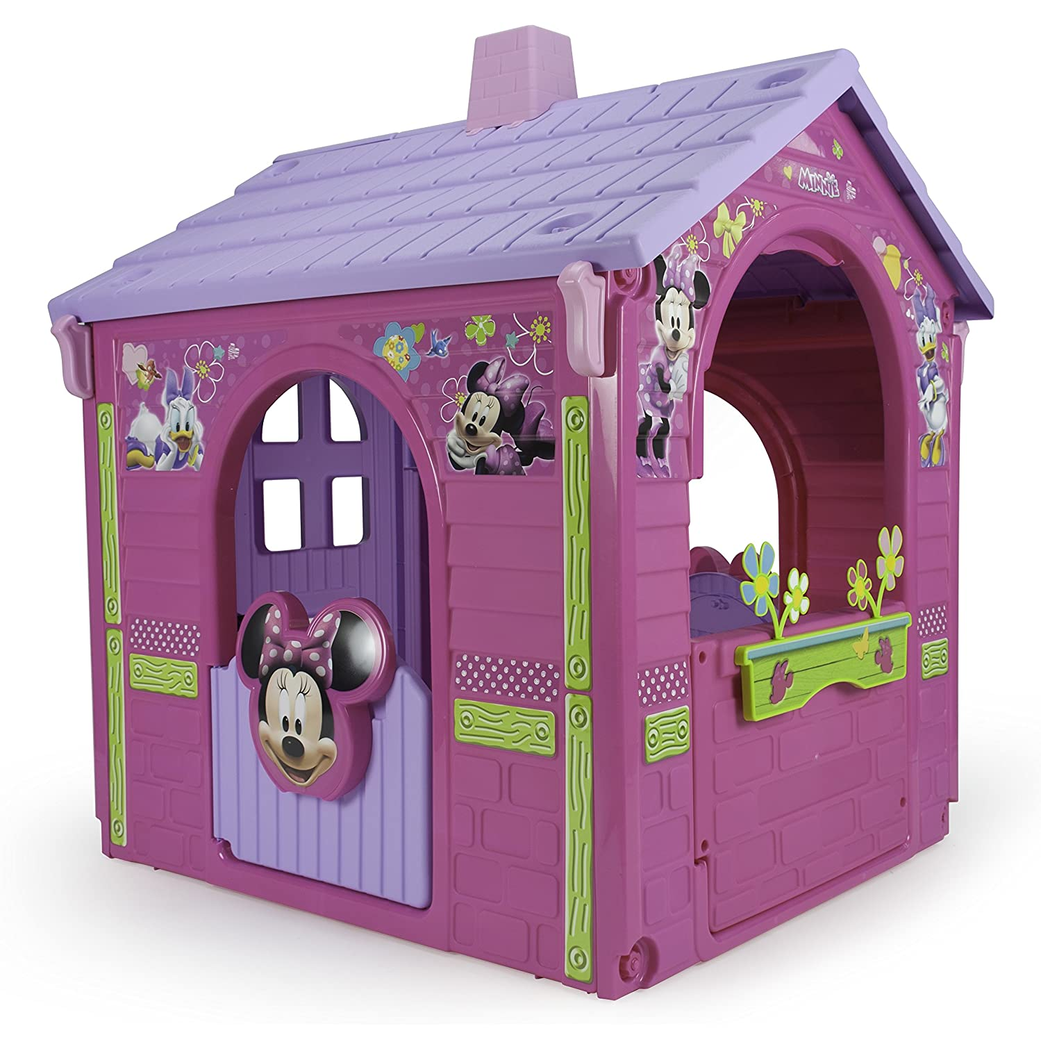 INJUSA Maison de Jardin pour Jeu de Plein air Minnie Mouse: Amazon ...