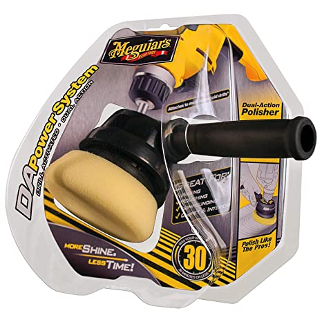Meguiar's G3500 Dual Action Power System Tool – Boost Your Car Care Arsenal  with This Detailing Tool