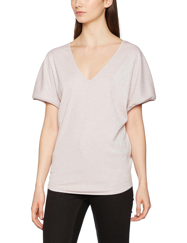 TALLA S. Fornarina Celie-Antic Rose T-Shirt Camiseta para Mujer