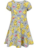 Pokemon Pikachu Girl's Short Sleeved Dress