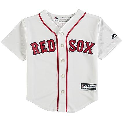 cefc50693 Outerstuff Andrew Benintendi Boston Red Sox  16 Kids 4-7 Cool Base Home  Jersey