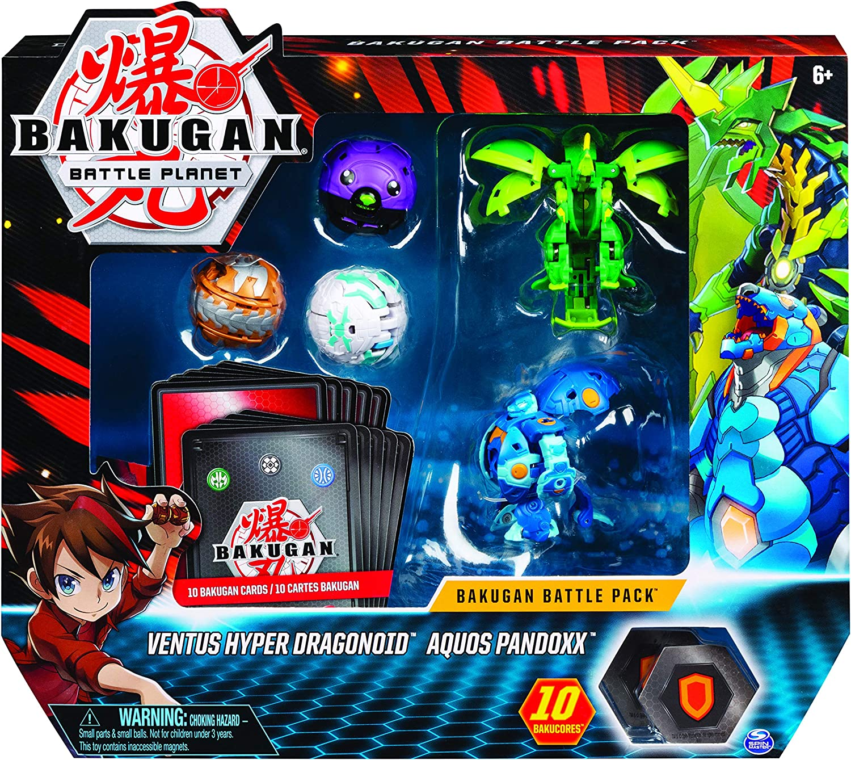 BAKUGAN- BTB Battle 5 Pack-11 GML, Multicolor, 6058572: Amazon.es ...