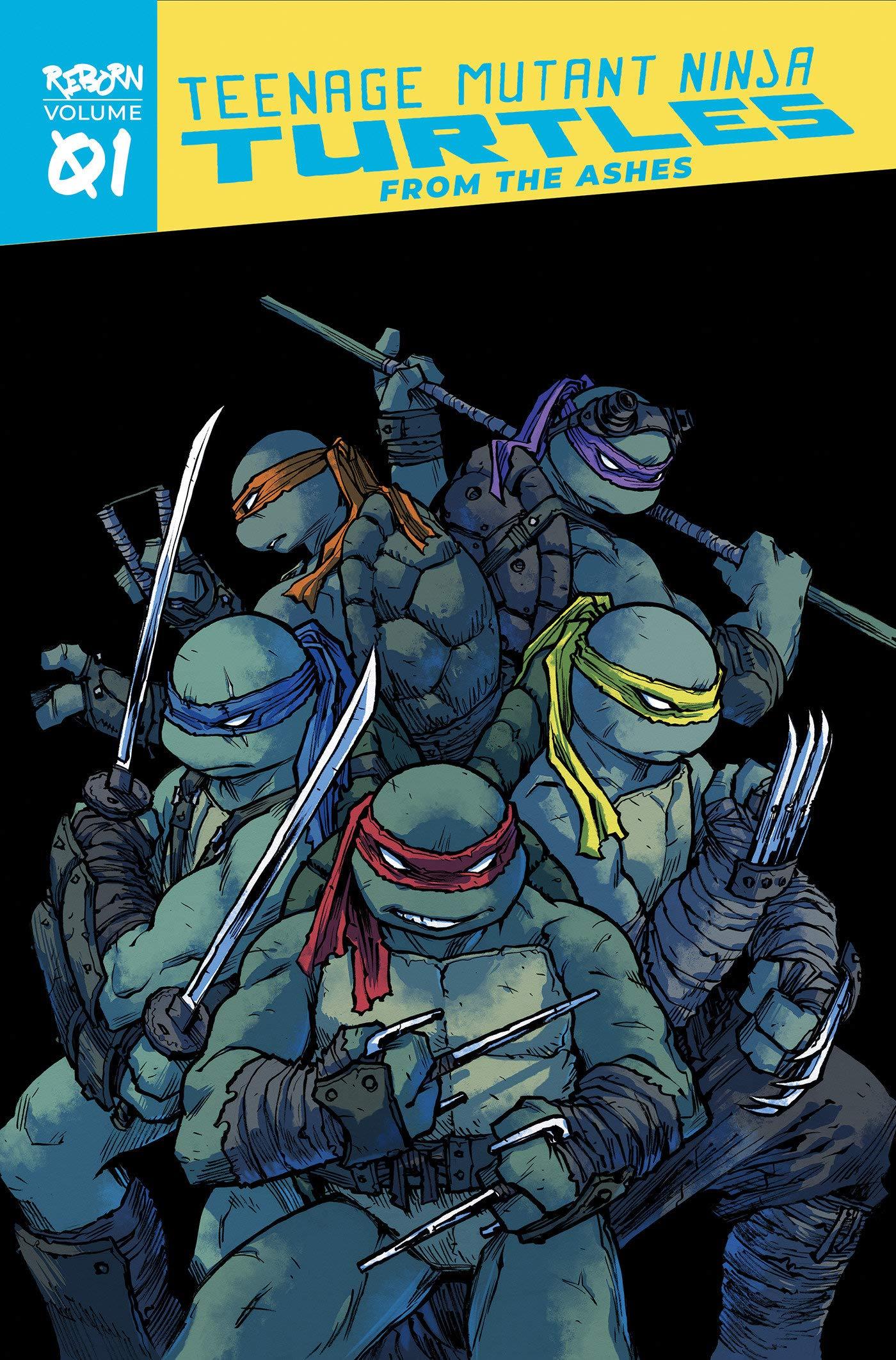 Teenage Mutant Ninja Turtles: Reborn, Vol. 1 - From The ...