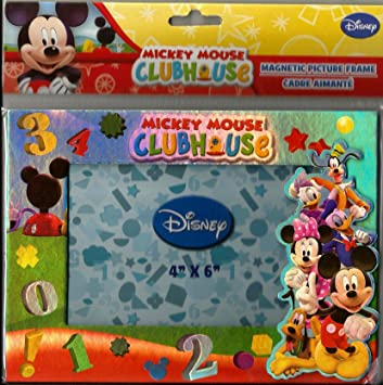 Amazoncom Disney Junior Mickey Mouse Club House Magnetic Picture