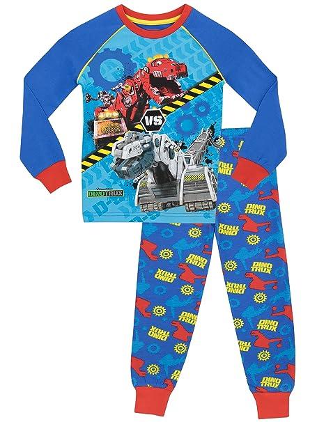 Dinotrux - Pijama para Niños - Dinotrux - Ajuste Ceñido - 2 - 3 Años