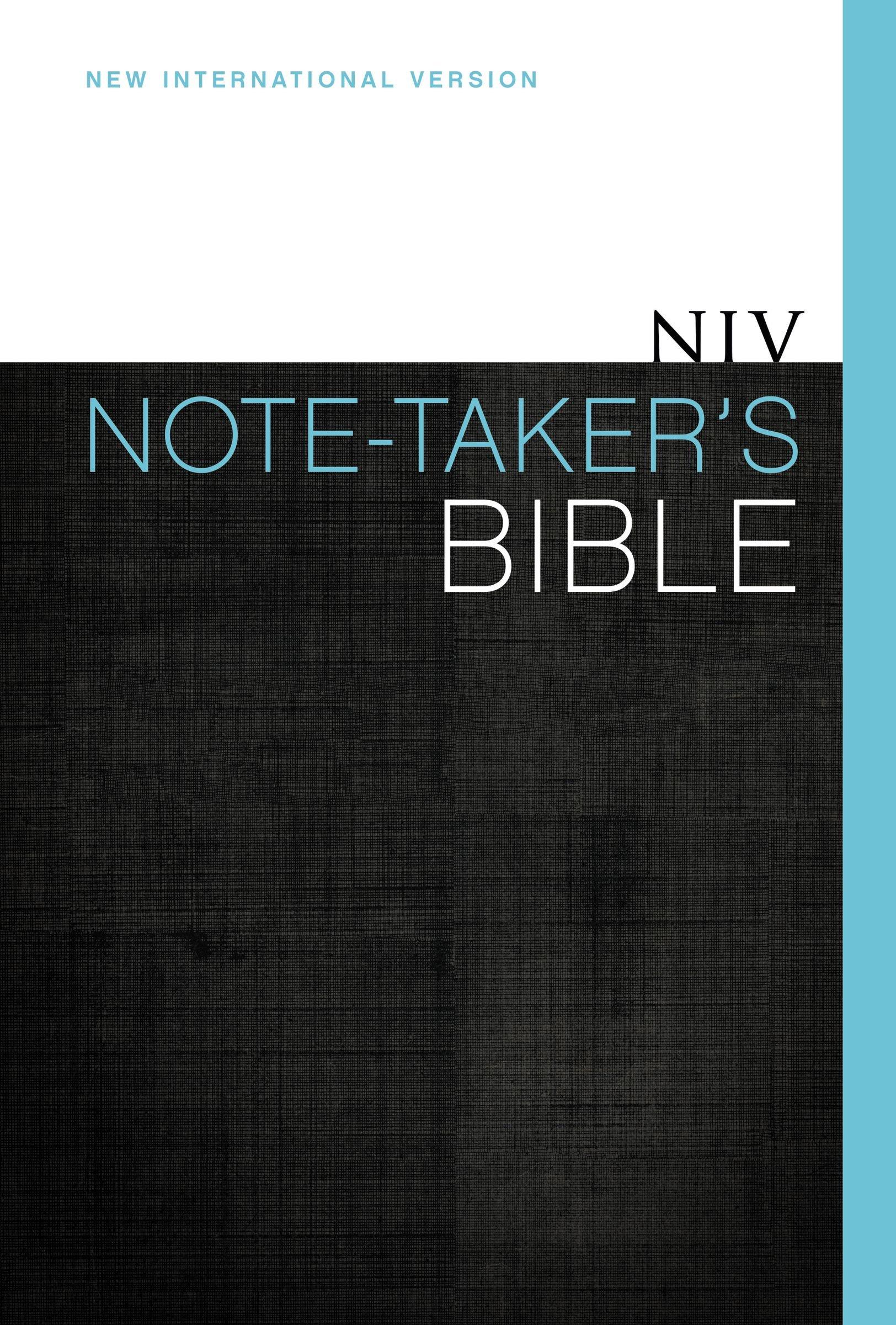 Download NIV, Note-Taker's Bible, Hardcover PDF