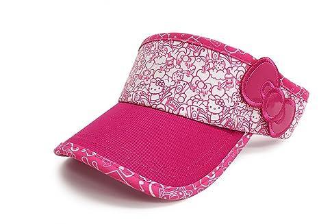 Amazon.com   Hello Kitty Sports Visor - Sweet Beats Pink   Sports ... dddf0404dfb9b