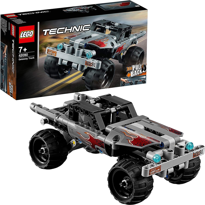 LEGO Technic - Camión de Huida, juguete divertido de todoterreno monster truck (42090)