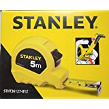 Stanley STHT36127-812 Plastic 5m Tape (Yellow)