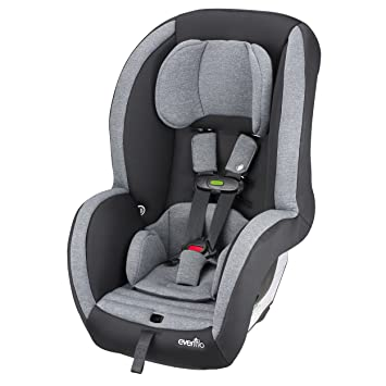 Evenflo Advanced Titan 65 Convertible Car Seat With Sensor Safe Jet