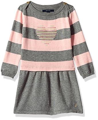 2f7517e6f7 Amazon.com  Nautica Girls  Sweater Dress  Clothing