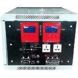 40000W peak 10000W LF Split Phase Pure Sine Wave Power Inverter DC 48V to AC 110V&220V 60Hz, with 150A BC / UPS / LCD display